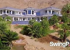 Swinger couple makes an exciting arrival to the swing house