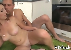 Wicked hottie is desirous for proper stimulation and hardcire sex