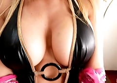 Busty Blonde Perfect Boobs Perfect Pussy Amazing Babe