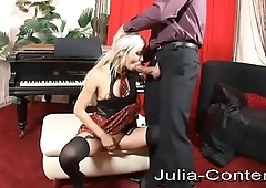 Fucked at the piano lessons