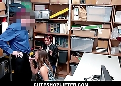 Hot Asian MILF Christy Love Has Sex With Security Guard To Get Virgin Daughter Off Of Shoplifting Charges