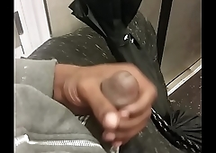 black cock on MTA train