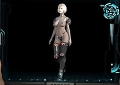 3D animated Walk from Virtual Lust