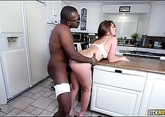 White Girl Maddy O'_reilly First Bbc