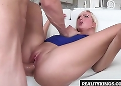 Natural Teen (Kate England) loves big dick hard - Reality Kings