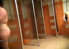 Spycam in the womwns shower 7