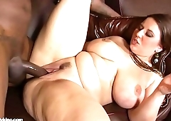 Lexxxi Lockhart In The Theater With Her Pussy Out and Gets a BBC to Fuck Some White Pawg ass